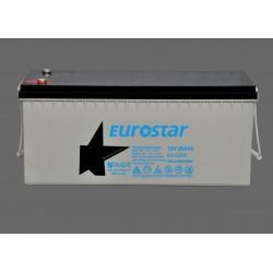 Eurostar 12V 200A Kuru Agm Tip Akü