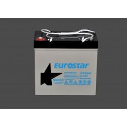 Eurostar 12V 55A Kuru Agm Tip Akü