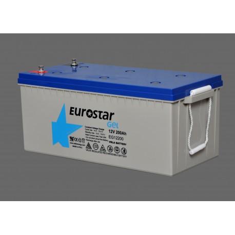 Eurostar 12V 200A Jel Tip Akü