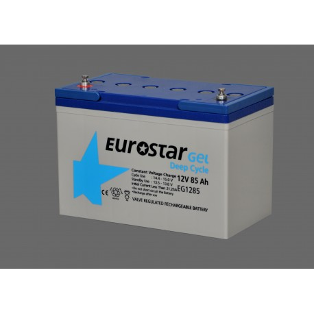 Eurostar 12V 85A Jel Tip Akü