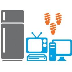 Güneş Enerjili Büyüz Buzdolabı Lamba Tv Bilgisayar Paketi