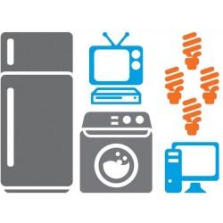 Güneş Enerjili Büyüz Buzdolabı Çamaşır makinesi Lamba Tv Bilgisayar Paketi