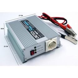 Linetech 12v 600Watt Şarjlı invertör(12-24v Model seçenekli)
