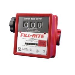 Fill-Rite 807-CL1  3 Haneli Filtresiz  Akaryakıt Sayacı