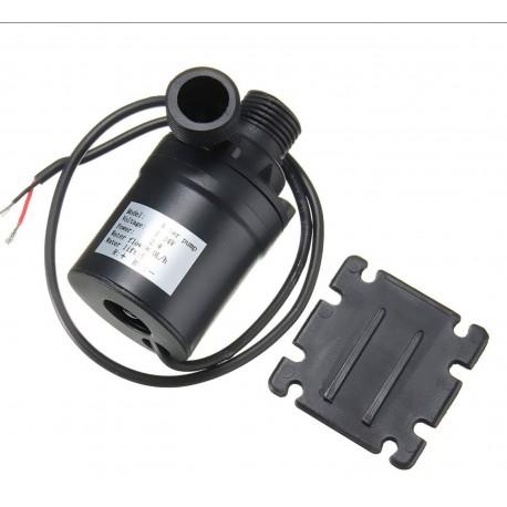 """12V-24v 5metre 800Litre/Saat Sıcak-Soğuk  Su devirdaim Pompası 1/2"""" Çaplı Fırçasız"""