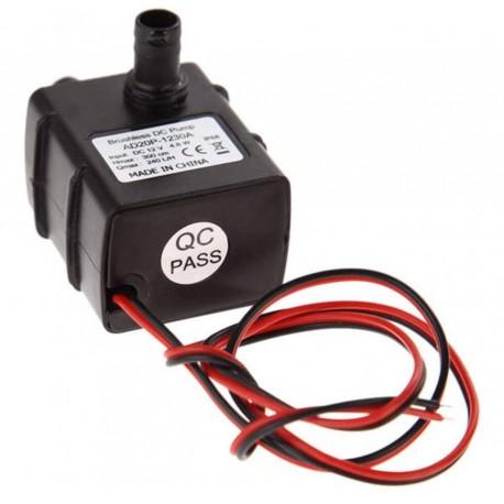 12V 3. 6W Fırçasız Soğuk su Devirdaim Pompası Dalgıç Çalışabilme