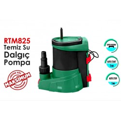 RTRMAX RTM825 8Mt 10Ton/saat TEMİZ SU DALGIÇ POMPASI