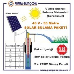 Sürücüsüz Solar Dalgıç Sulama Paketi - 2
