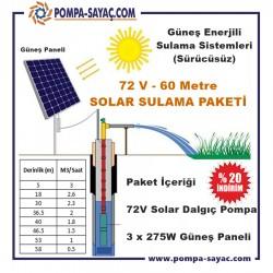 Sürücüsüz Solar Dalgıç Sulama Paketi - 3