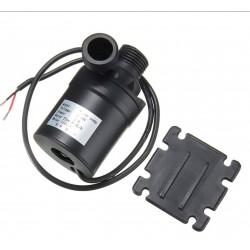 """24v 5metre 800Litre/Saat Sıcak-Soğuk  Su devirdaim Pompası 1/2"""" Çaplı Fırçasız"""
