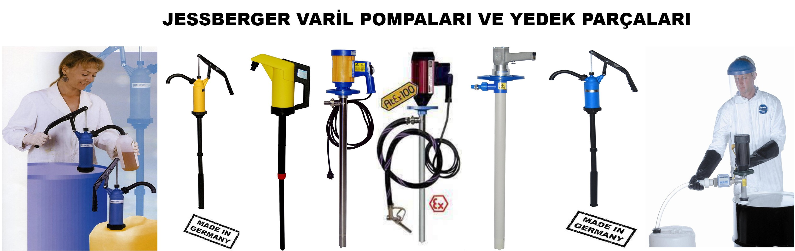 Jessberger Varil Pompaları
